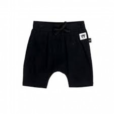 HUXBABY BLACK SHORTS