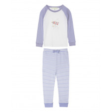 BIG GIRLS JANE FLORAL BUNNY FOUR IN THE BED PJ SET