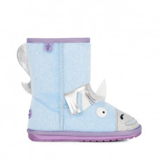 EMU KIDS UNICORN PALE BLUE MERINO WOOL BOOTS
