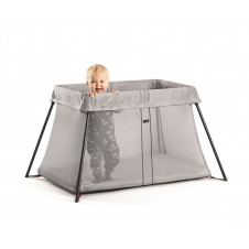 BABYBJORN TRAVEL COT LIGHT silver