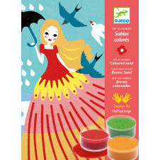 DJECO GIRLS DAY OUT COLOURED SAND
