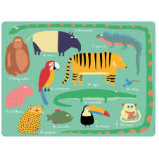 PETIT JOUR PARIS JUNGLE PLACEMAT
