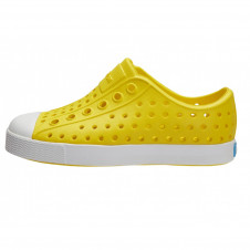 NATIVE JEFFERSON CHILD CRAYON YELLOW/ SHELL WHITE