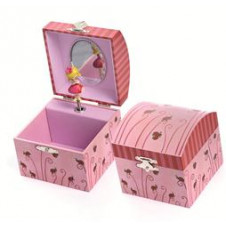 EGMONT MUSICAL JEWELLERY BOX LADYBUG
