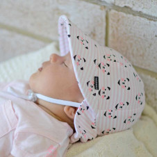 KITTY BABY LEGIONNAIRE HAT WITH STRAP