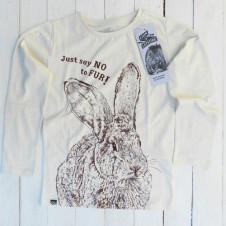 Lion of Leisure bunny l/s OFF WHITE