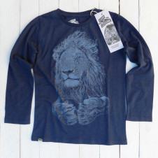 Lion of Leisure lion l/s INDIGO