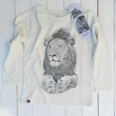 Lion of Leisure lion l/s OFF WHITE