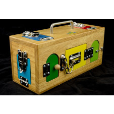 MAMAGENIUS LOCK ACTIVITY BOX LARGE