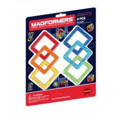 MAGFORMERS SQUARES 6 SET