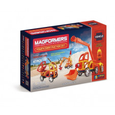 MAGFORMERS POWER CONSTRUCTION 47PC SET