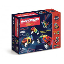 MAGFORMERS WOW VEHICLES 16PC SET