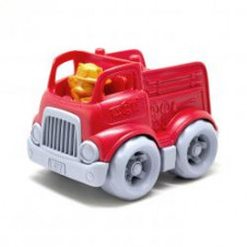GREEN TOYS FIRE ENGINE WITH FIGURE