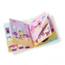 MELISSA & DOUG REUSABLE PUFFY STICKER DELUXE DAY OF GLAM