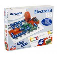 MINILAND SNAP ELECTRONIC CIRCUTS 88 EXPERIMENTS
