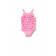 mILKY GIRLS PINK FRILL SWIMSUIT