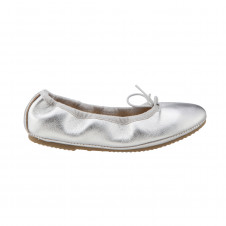 OLD SOLES CRUISE BALLET FLAT SILVER
