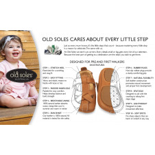 OLD SOLES SISTA BOW SHOE GOLD