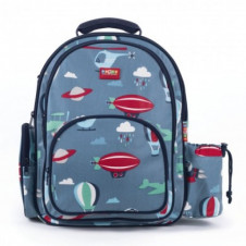 PENNY SCALLAN BACKPACK LARGE Front view Space Monkeys
