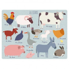 PETIT JOUR PARIS FARM PLACEMAT