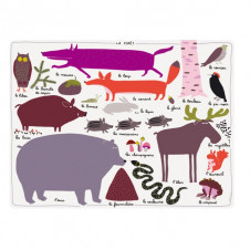 PETIT JOUR PARIS WOODLAND PLACEMAT
