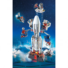 Playmobil - Space Rocket With Base Station