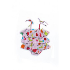 ALEX & ANT FROU FROU PLAYSUIT PINK FRUITS