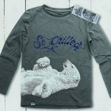 Lion of Leisure polar l/s STEEL GREY