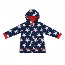 PENNY SCALLAN RAINCOAT NAVY STAR