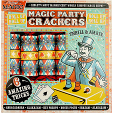 RIDLEYS MAGIC TRICKS PARTY CRACKERS 6 SET