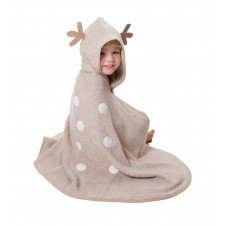 CUDDLEDRY CUDDLEDEER ORGANIC TODDLER TOWEL