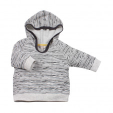 FOX AND FINCH DENVER STRIPE LIGHWEIGHT HOODIE