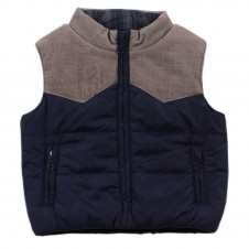 FOX AND FINCH HIGHLANDS MIX PUFFA VEST