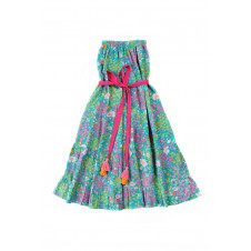 COCO & GINGER ROSE DRESS AQUA PARIS GYPSY