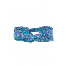 COCO & GINGER HEAD BAND BLUE WILD FLOWER