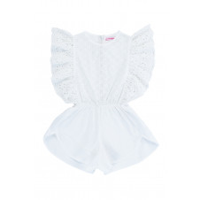 COCO & GINGER DELPHINE PLAYSUIT CUTWORK AND LACE