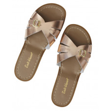 SALTWATER ADULTS CLASSIC SLIDES ROSE GOLD