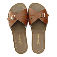 SALTWATER ADULTS CLASSIC SLIDES TAN
