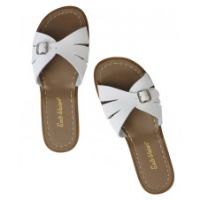 SALTWATER ADULTS CLASSIC SLIDES WHITE
