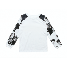 ALEX & ANT b&w QUILTED TEE
