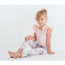 LITTLE HEARTS PINK ROSE LEGGINGS