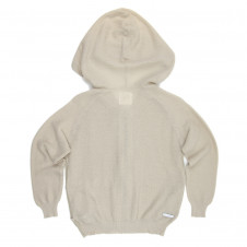 SUDO RADIANCE KNIT HOODIE GOLD