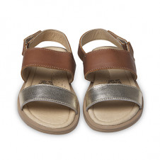 OLD SOLES ISLAND SANDAL GOLD & TAN