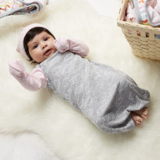 SKIP HOP BABY GOWN EASY CHANGE