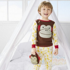 SKIP HOP ZOO PAJAMAS MONKEY