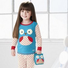 SKIP HOP ZOO PAJAMAS OWL with take-along nightlight owl