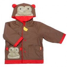 SKIP HOP ZOO RAINCOAT MONKEY