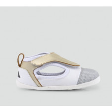BOBUX STEP UP GOLD/WHITE HYDRA SUMMER SHOE