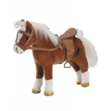 GOTZ BROWN HORSE W SADDLE/BRIDLE