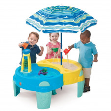 STEP 2 SHADY OASIS SAND & WATER PLAY TABLE